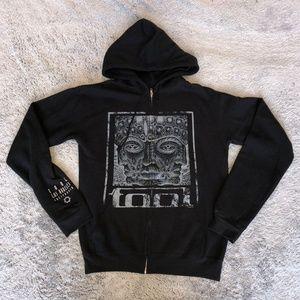 Tool 10,000 Days Hoodie Sweatshirt Full Zip Sz Med
